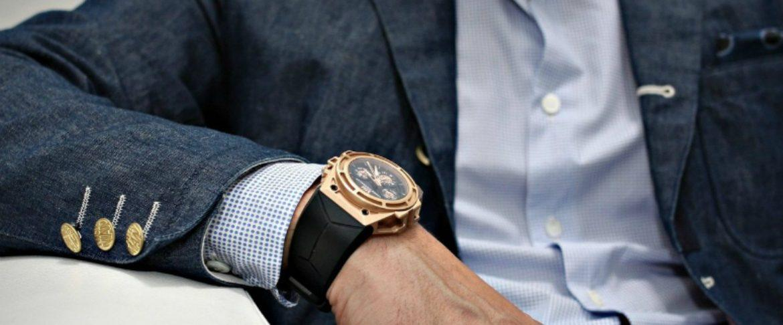 mẹo kết hợp thời trang đồng hồ nam