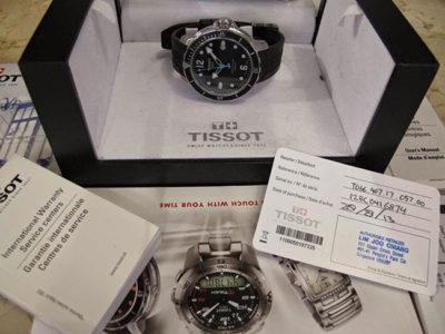 Đồng hồ Tissot bảo hành toàn cầu tại Tân Tân 3