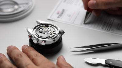 Đồng hồ Tissot bảo hành toàn cầu tại Tân Tân 1