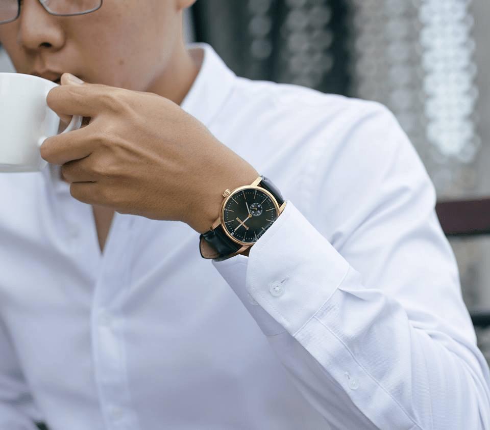 Đồng hồ đeo tay Chất liệu Dây da - Lí do khiến hàng triệu người mê muội 7