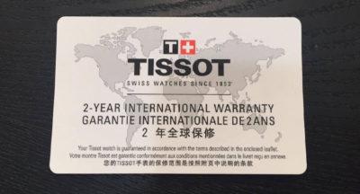 Đồng hồ Tissot bảo hành toàn cầu tại Tân Tân 2