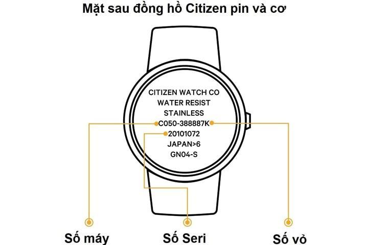 Cách Nhận Biết Đồng Hồ Citizen Thật Giả