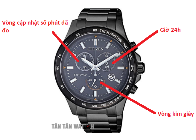 đồng hồ Chronograph