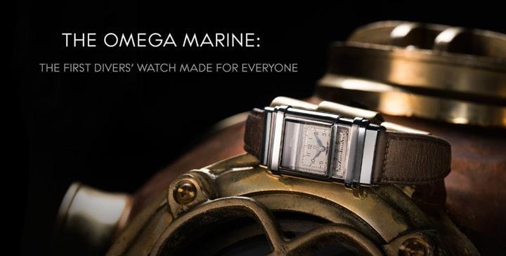 Lịch sử dòng đồng hồ Omega Seamaster lừng lẫy của thương hiệu Omega. 3