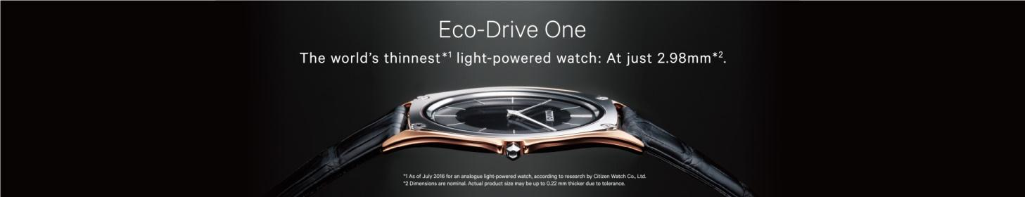 đồng hồ Citizen Eco-drive One