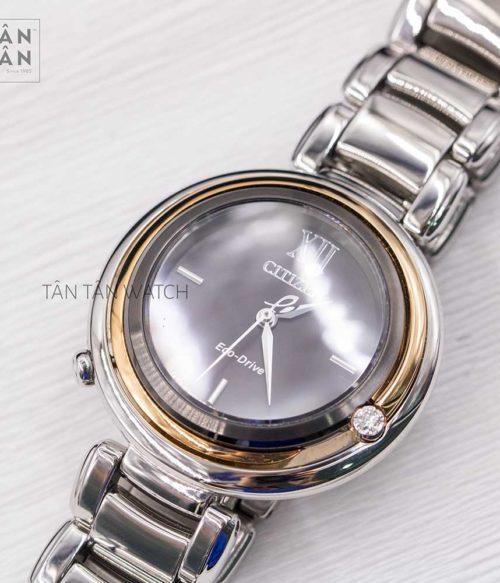 Đồng hồ Citizen EM0658-87E mặt trước