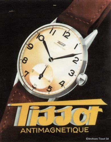 đồng hồ cơ kháng từ trường