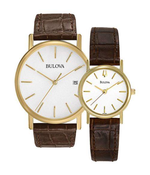 BULOVA – Quartz(PIN) 97B100(Nam) 97L102(Nữ)