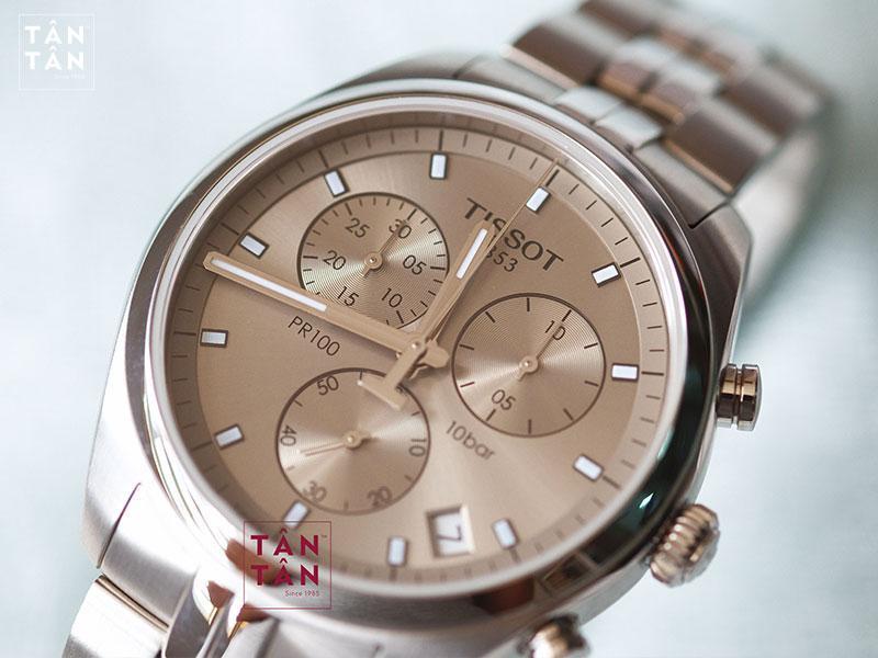 Đồng Hồ Tissot Quartz Chronograph T101.417.11.071.00 2