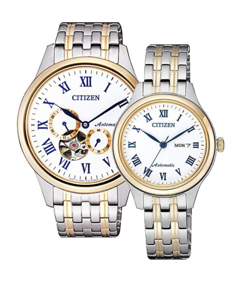CITIZEN – Automatic NP1026-86A(Nam) – PD7136-80A(Nữ)