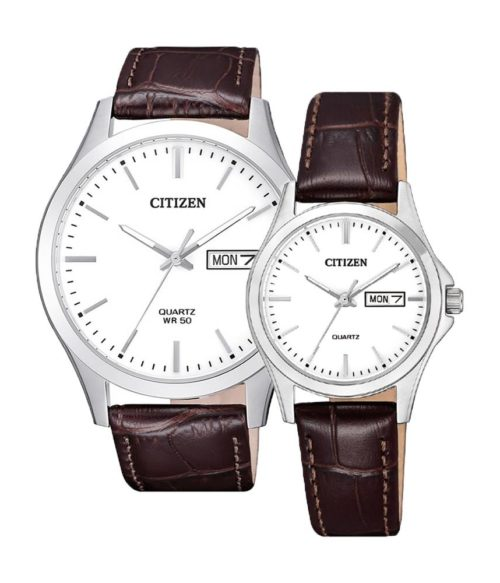 CITIZEN – Quartz(PIN) BF2001-12A(Nam) – EQ0591-21A(Nữ)