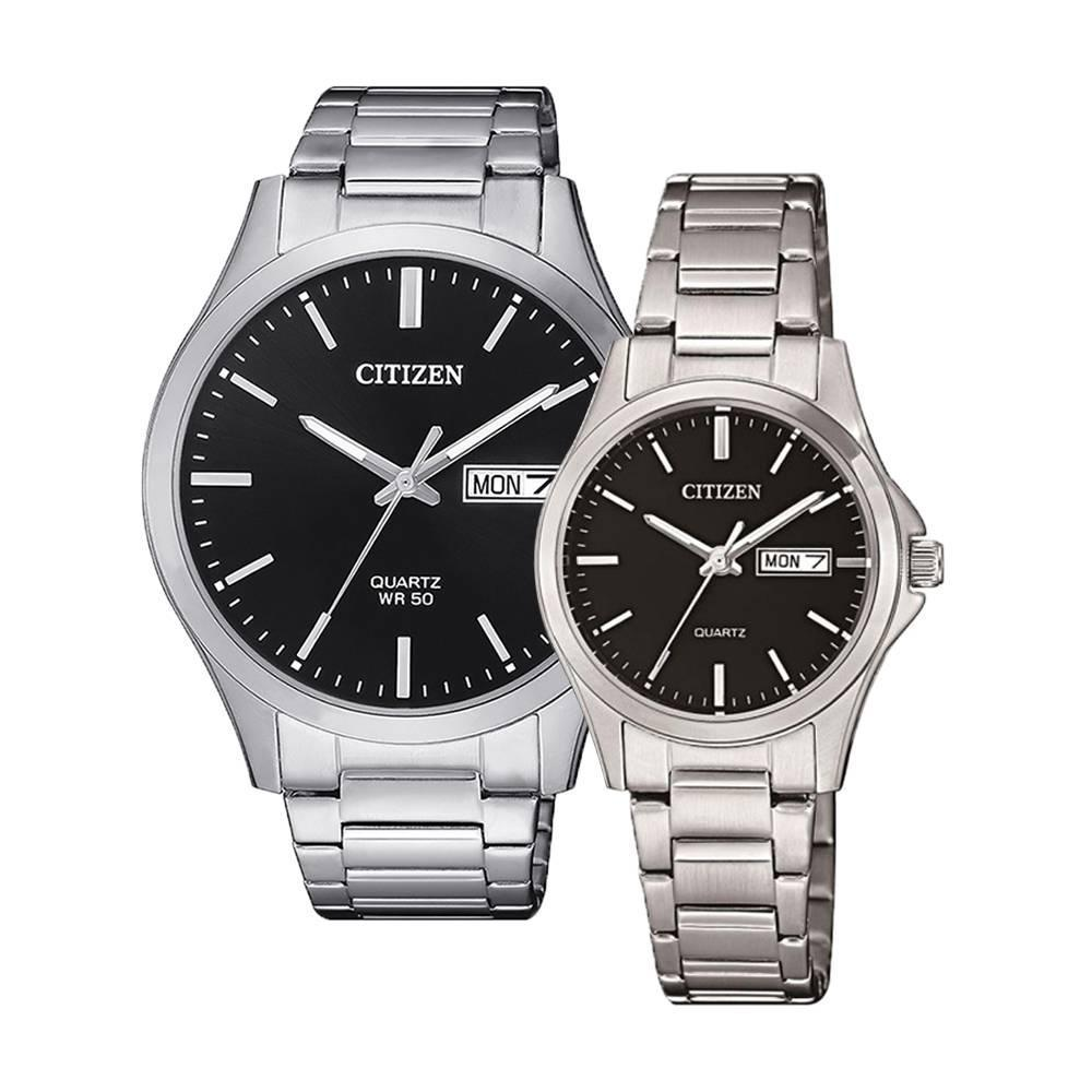CITIZEN – Quartz(PIN) BF2001-80E(Nam) – EQ0591-81E(Nữ)