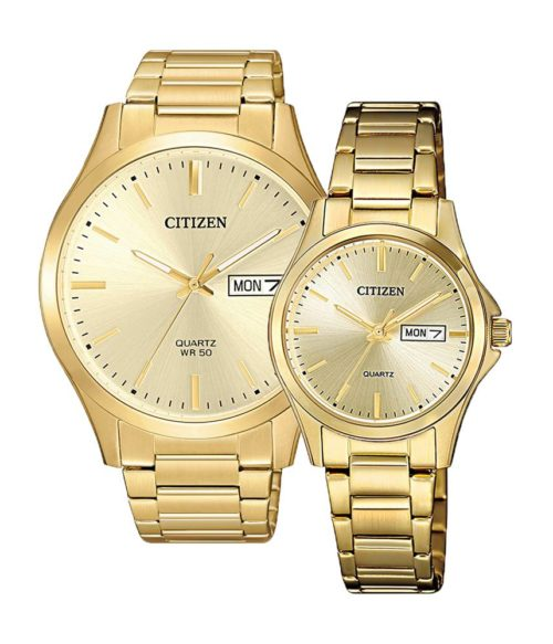 CITIZEN – Quartz(PIN) BF2003-84P(Nam) – EQ0593-85P(Nữ)
