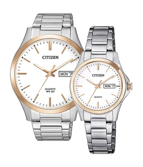 CITIZEN – Quartz(PIN) BF2006-86A(Nam) – EQ0596-87A(Nữ)
