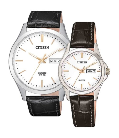 CITIZEN – Quartz(PIN) BF2009-11A(Nam) – EQ0599-11A(Nữ)