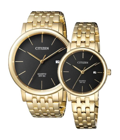 CITIZEN – Quartz(PIN) BI5072-51E(Nam) – EU6092-59E(Nữ)