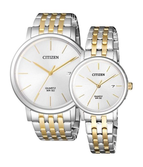 CITIZEN – Quartz(PIN) BI5074-56A(Nam) – EU6094-53A(Nữ)