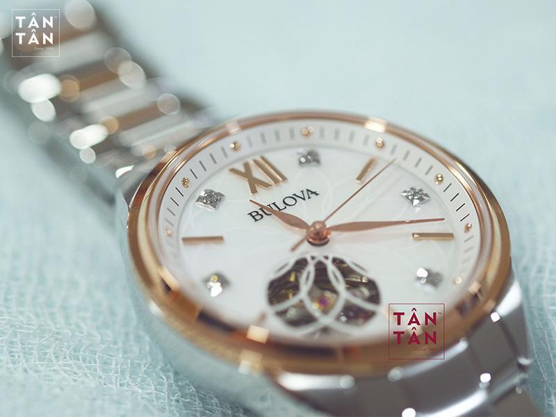 Đồng Hồ Bulova 98P170 - thiết kế The Ladies' Diamonds xinh đẹp, quyền năng
