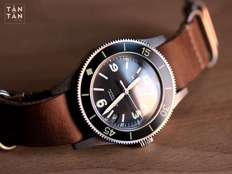 Helson Skindiver, đồng hồ homage tái hiện lại hình ảnh của Blancpain Fifty Fathoms
