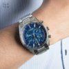 Đồng hồ Citizen CB5020-87L đeo trên tay