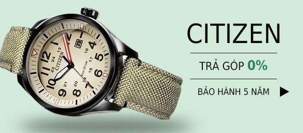 Banner đồng hồ citizen