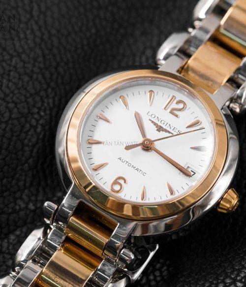 Đồng hồ Longines L8.111.5.16.6 mặt trước