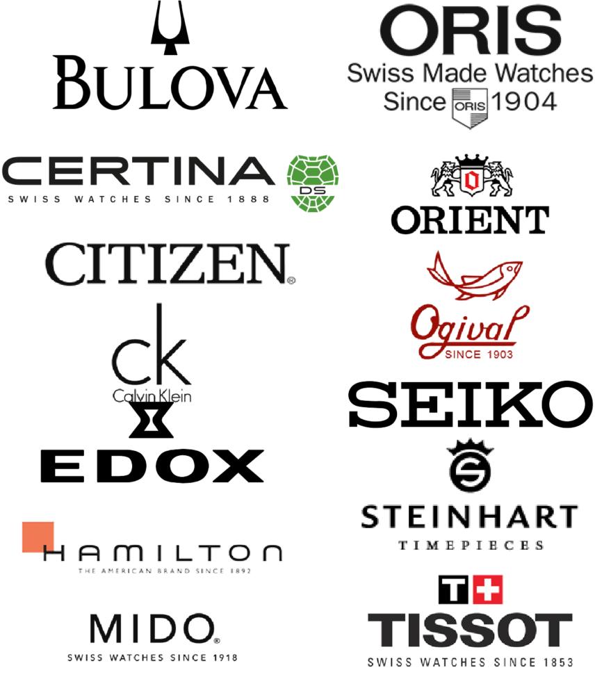 sửa chữa đồng hồ tại TP HCM Bulova, Oris, Certina, Orient, Citizen, Ogival, CK, calvin klein, Seiko, Edox, Hamilton, Steinhart, Mido, Tissot