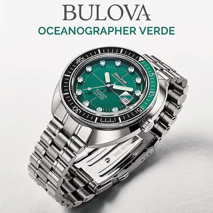 Cảm nhận, đánh giá đồng hồ Bulova Oceangrapher - Tay thợ lặn quỷ quyệt của thương hiệu Bulova 1