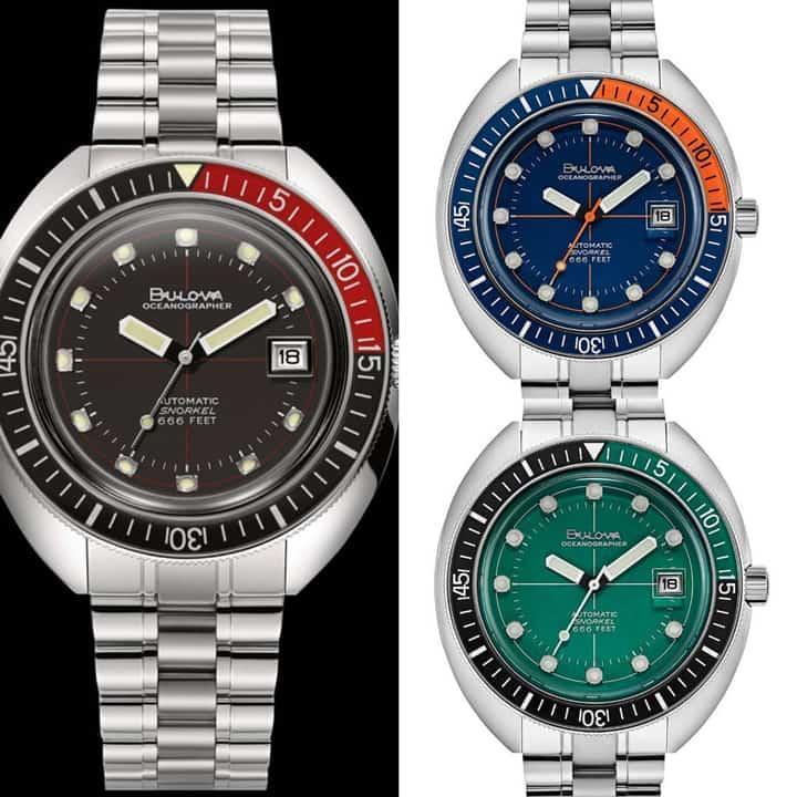 Cảm nhận, đánh giá đồng hồ Bulova Oceangrapher - Tay thợ lặn quỷ quyệt của thương hiệu Bulova 10
