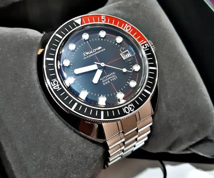 Cảm nhận, đánh giá đồng hồ Bulova Oceangrapher - Tay thợ lặn quỷ quyệt của thương hiệu Bulova 14