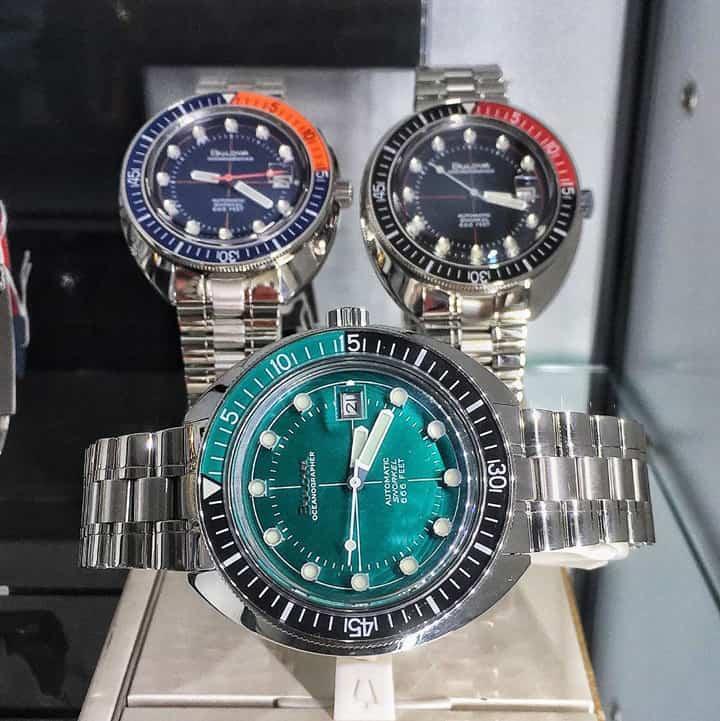 Cảm nhận, đánh giá đồng hồ Bulova Oceangrapher - Tay thợ lặn quỷ quyệt của thương hiệu Bulova 2