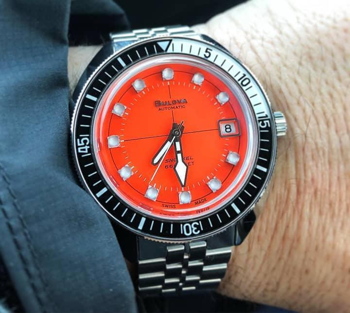 Cảm nhận, đánh giá đồng hồ Bulova Oceangrapher - Tay thợ lặn quỷ quyệt của thương hiệu Bulova 3