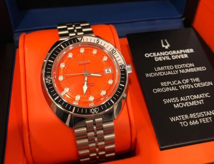 Cảm nhận, đánh giá đồng hồ Bulova Oceangrapher - Tay thợ lặn quỷ quyệt của thương hiệu Bulova 7