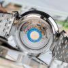 Đồng Hồ Bulova 96A235 Nam Máy Cơ Kính Sapphire Dây Kim Loại 40mm