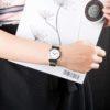 Đồng Hồ Bulova 96L275 Nữ Kính Sapphire Dây Kim Loại 30mm