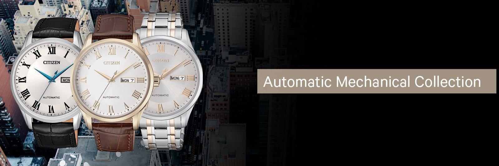bst đồng hồ máy cơ automatic citizen đẹp mới nhất