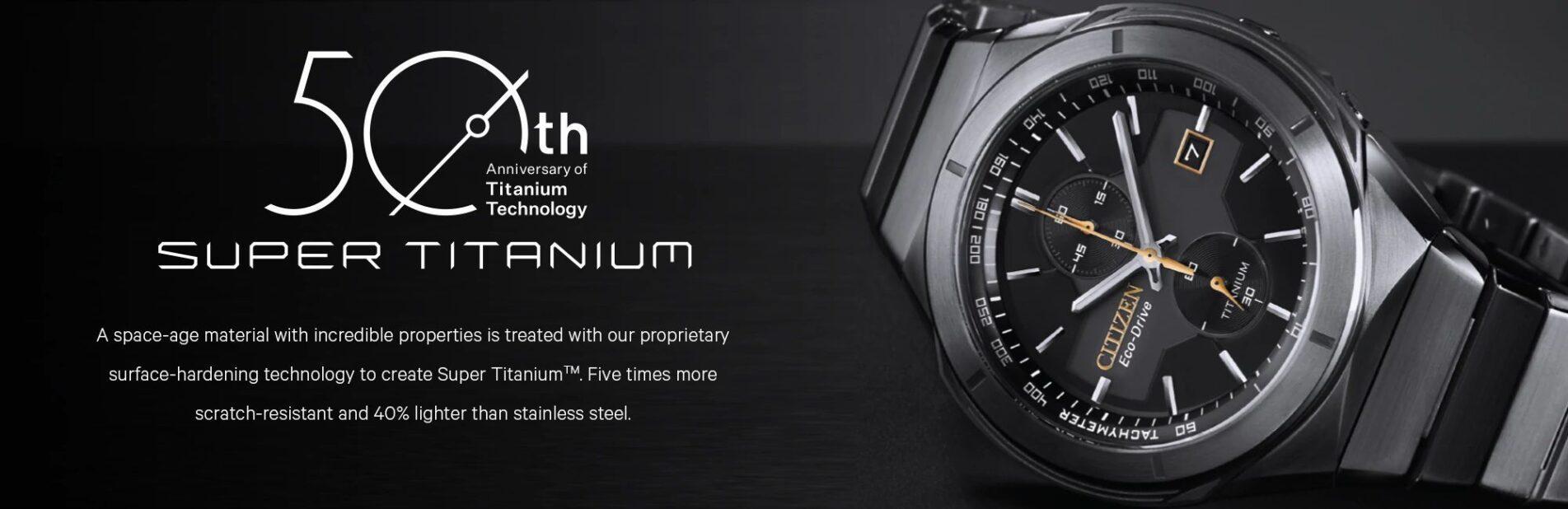 bộ sưu tập đồng hồ citizen titanium siêu bền chính hãng đa dạng duy nhất tại VN
